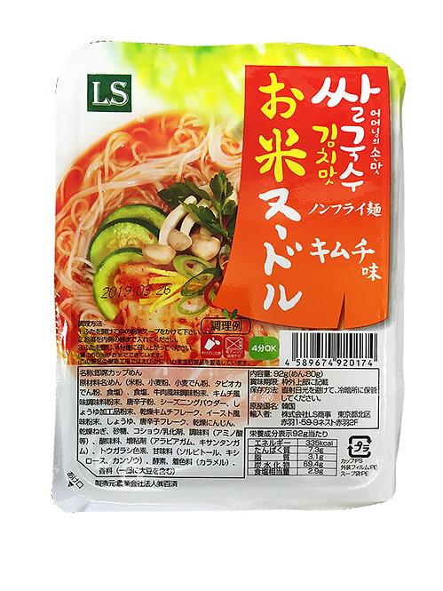 お米ヌードルキムチ味