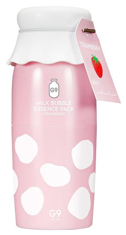 G9SKINミルクバブルエッセンスパック「イチゴ」