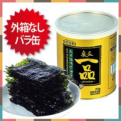 一品天日塩味付け海苔1缶