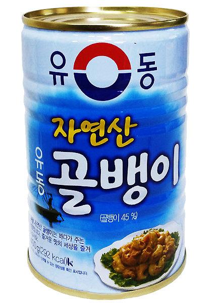 自然産つぶ貝缶詰 400g