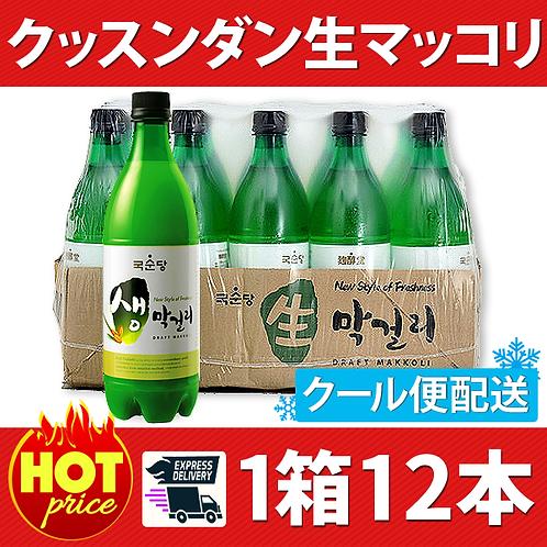 クッスンダン生マッコリ(ペット) 1箱12本(クール便無料発送)