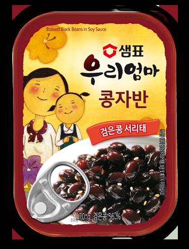 センピョ醤油煮豆 缶詰