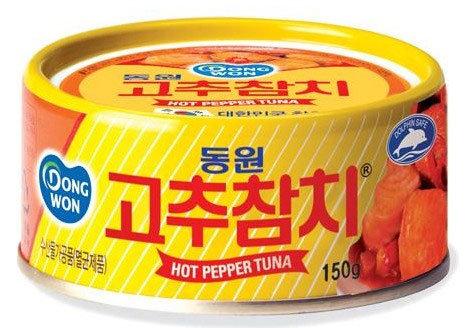 東遠・唐辛子ツナ缶詰