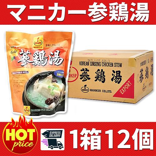 マニカー参鶏湯 1箱 12個