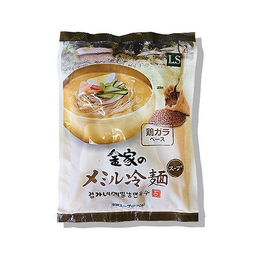 金家のメミル冷麺スープ