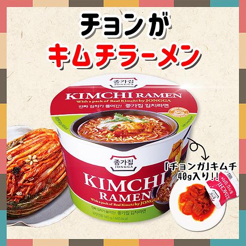 「宗家」キムチラーメン(大盛カップ)