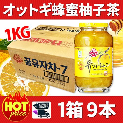 「オットギ」蜂蜜柚子茶 1箱9本