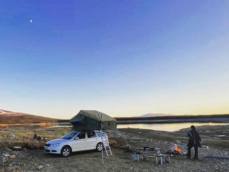 5 tips för att hitta magiska campingplatser för taktält