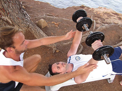 personal training in Ibiza