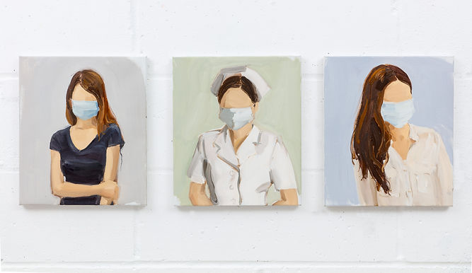 Untitled, Nurse with Facemask, Untitled
