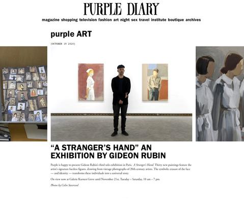 Purple Diary Paris