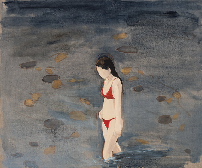GR - 2995 - Red Bikini_125x150cm_oilonli