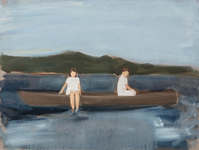 Untitled (Two in a Boat)