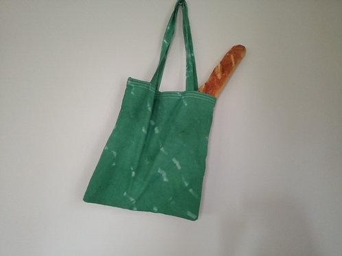 Yeşil Batik Bez Çanta