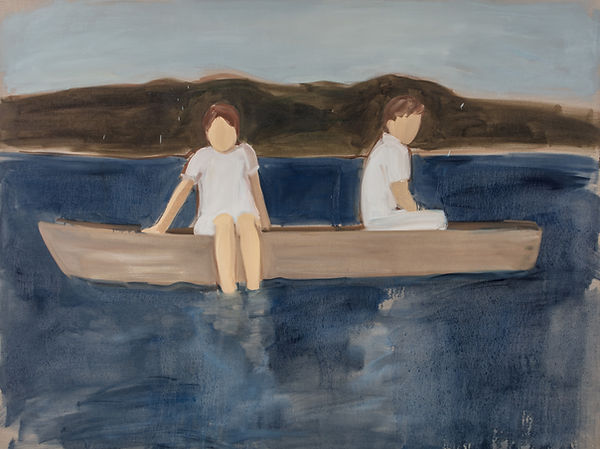 GR - 2814 - Two in a Boat - 180x240cm_oi