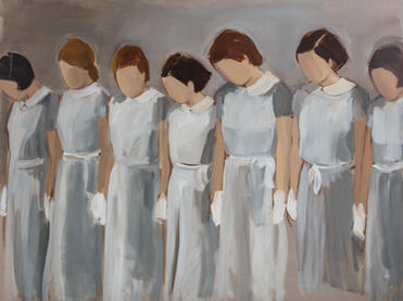 Seven Girls in Uniform