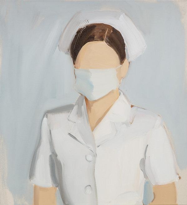 GR - 2824 - Nurse - 60x55cm_oiloncanvas_
