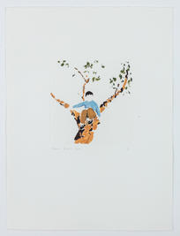 Boy and Tree