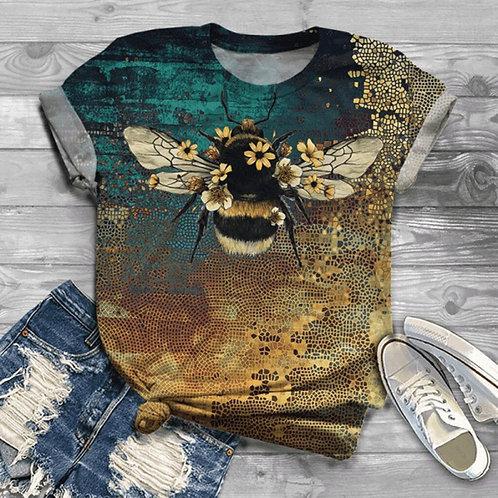 Camiseta Feminina Abelha