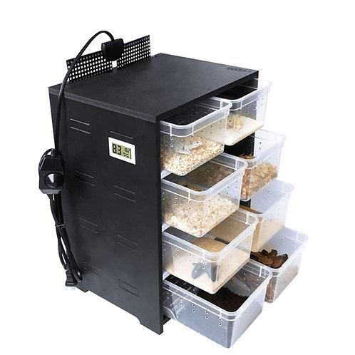 Gaveteiro para reprodução / alimentação e criação de pequenos animais.