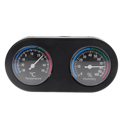 Termómetro / Higrômetro para terrários (Resistente a água)