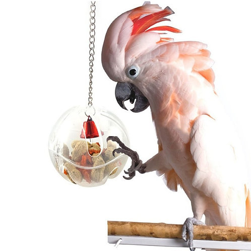 Alimentador para aves.