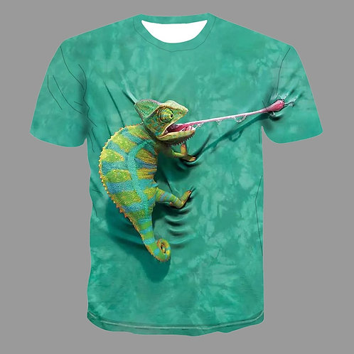 Camisetas 3D Animais