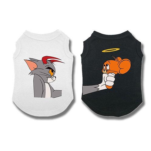 Rupas Tom & Jerry para cães e gatos