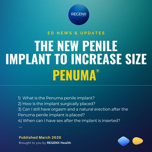 Penile Implant to enhance penile length and size and girth