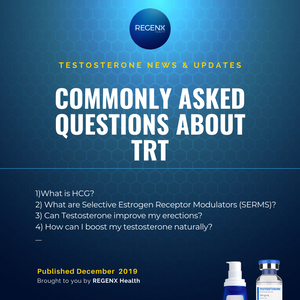 Commonly asked questions about testosterone replacement therapy (TRT)