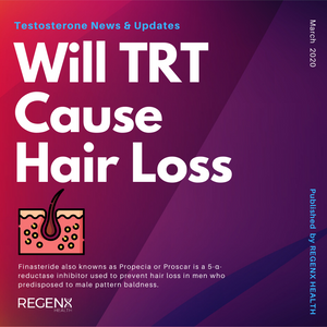 Testosterone therapy causing male pattern baldness, androgenic alopecia