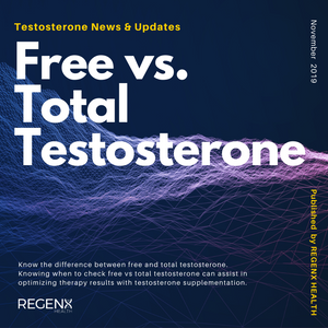 Man in Lab measuring total testosterone and free testosterone and which is better.