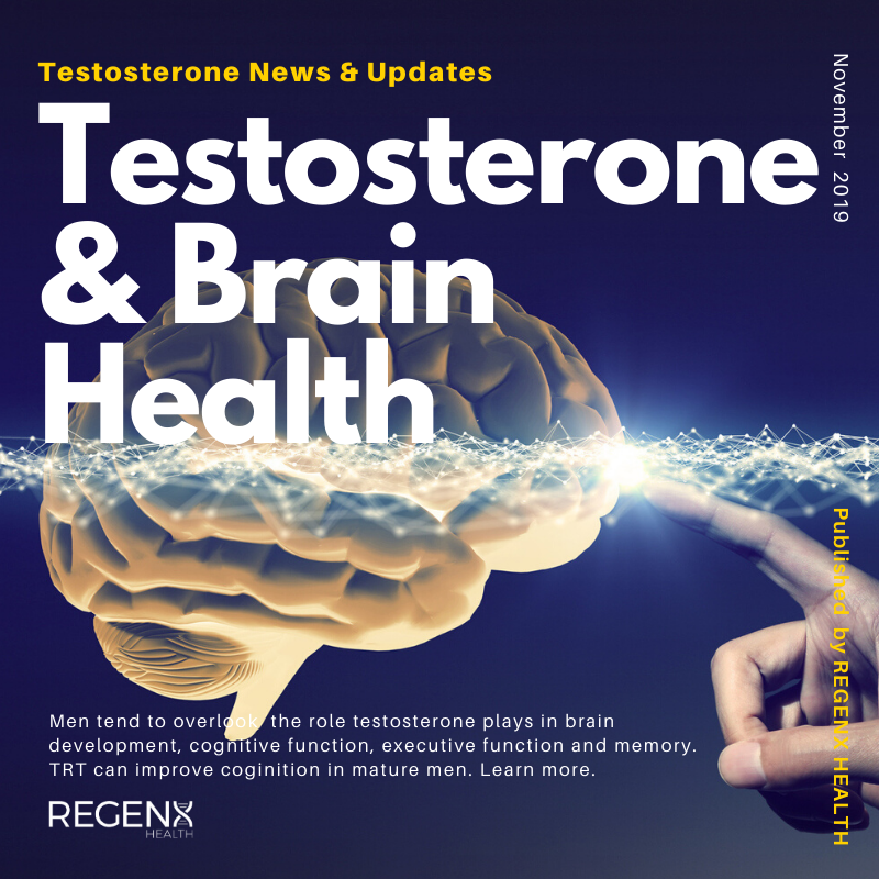 Doctors checkin the brain for health with testosterone therapy