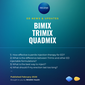 Bimix, Trimix, Quad Mix Penile Injection Therapy (ICI) for erectile dysfunction. How to Use and injection techniques