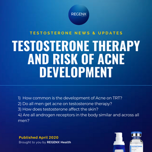 Acne Development in men who are using Testosterone Replacement