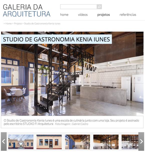 GALERIA DA ARQUITETURA / 08.08.2018