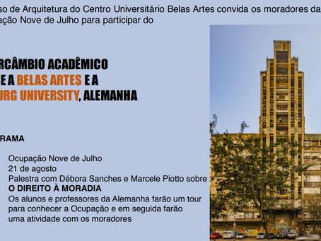 MSTC participa de Intercâmbio Acadêmico Internacional de Arquitetura