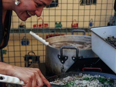 Cozinha da Ocupação Nove de Julho recebe Talitha Barros