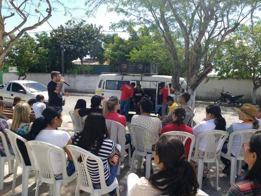 Servidores públicos de Montadas da área da saúde paralisaram suas atividades