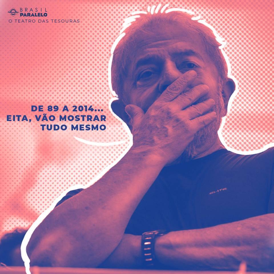 Brasil Paralelo lança a 3ª e nova série: o teatro das tesouras