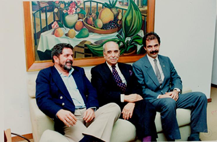 Em 1992, Lula e Mercadante pediram ao dono da Globo que apoiasse o impeachment de Collor