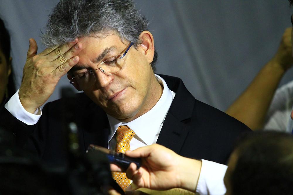 Ministério Público Eleitoral pede a cassação do governador Ricardo Coutinho