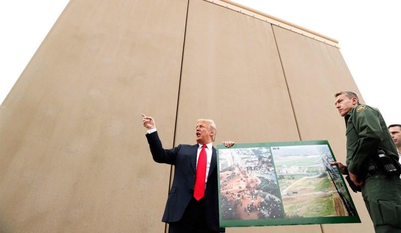 Trump declara Emergência Nacional e assim terá recursos para construir o muro na fronteira com o México