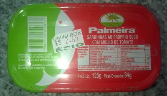 Prefeitura de Montadas estaria comprando sardinha para merenda a preço superfaturado de R$ 9,20!