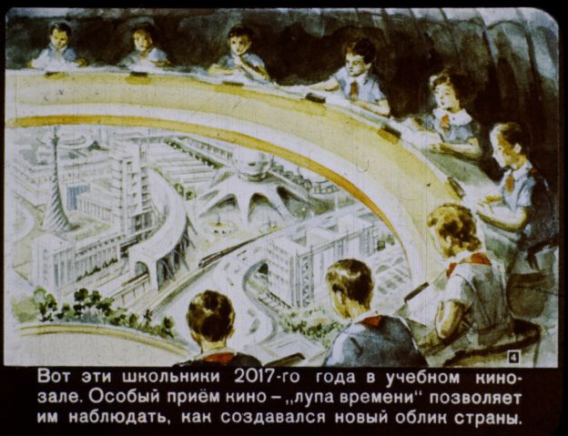 Da ficção a realidade. Veja como os soviéticos achavam que seria o ano de 2017