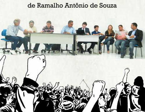 """Escândalo: """"Atos do vereador Ramalho serão levados até o Ministério Público"""". Garante oposição"""