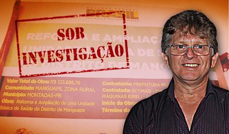 MPF investiga Prefeitura de Montadas referente a obra de reforma de Posto de Saúde de Manguape