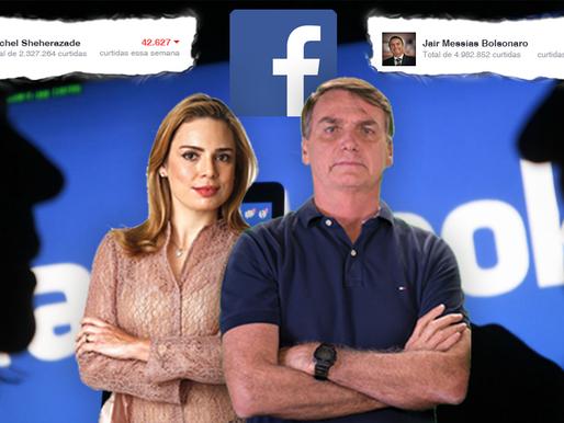Após criticar Bolsonaro, Sheherazade perde mais de 42,6 mil curtidas no Facebook!