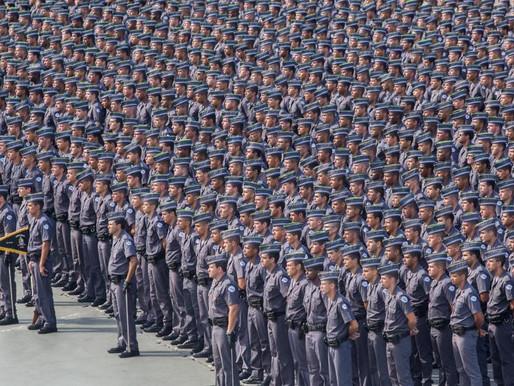 Brasil gasta mais com policiais aposentados do que com policiais na ativa