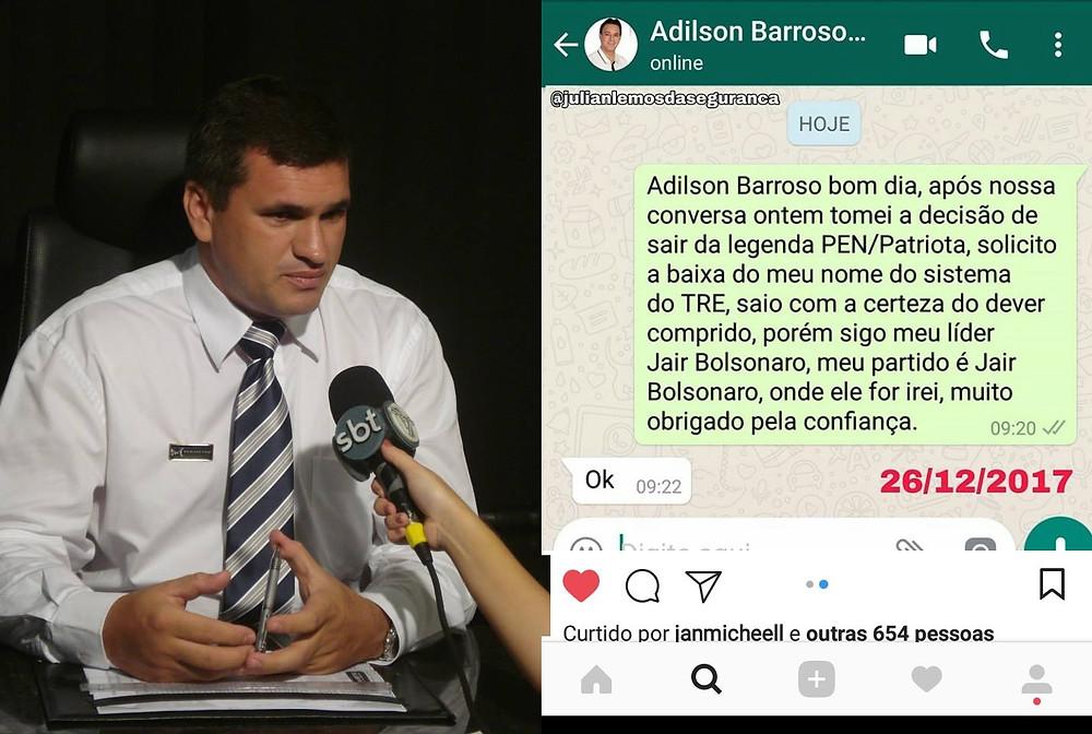Em apoio a Bolsonaro, milhares de eleitores começam a desembarcar do Patriotas/51